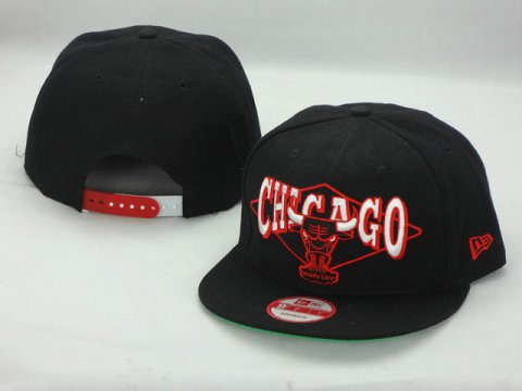 Chicago Bulls NBA Snapback Hat ZY01