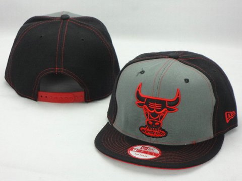Chicago Bulls NBA Snapback Hat ZY02
