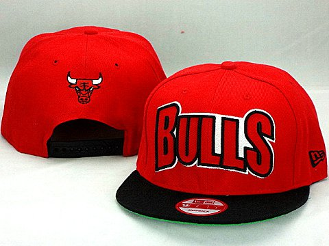 Chicago Bulls NBA Snapback Hat ZY04