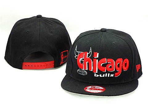 Chicago Bulls NBA Snapback Hat ZY05