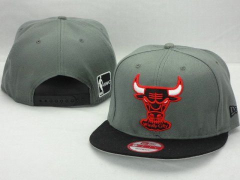 Chicago Bulls NBA Snapback Hat ZY10