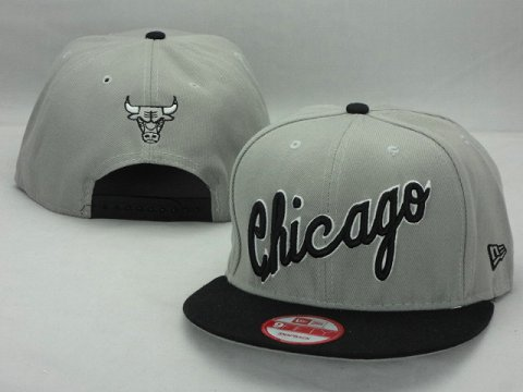 Chicago Bulls NBA Snapback Hat ZY12
