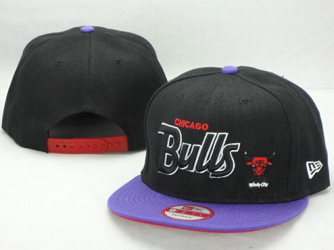 Chicago Bulls NBA Snapback Hat ZY15