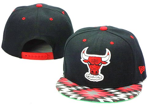 Chicago Bulls NBA Snapback Hat ZY21