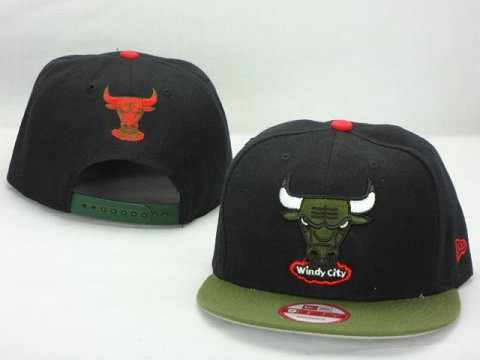 Chicago Bulls NBA Snapback Hat ZY25