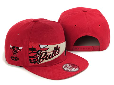 Chicago Bulls Snapback Hat LX25