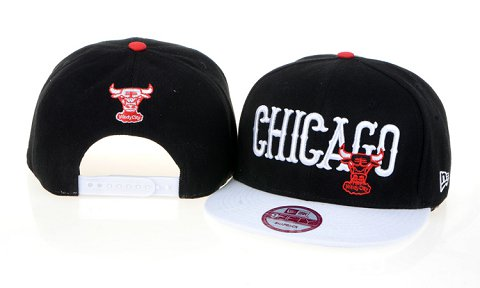 Chicago Bulls NBA Snapback Hat 60D03