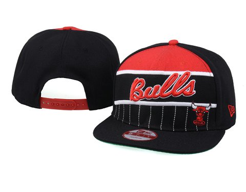 Chicago Bulls NBA Snapback Hat 60D06