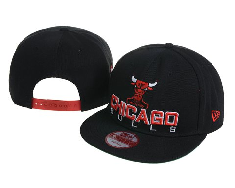 Chicago Bulls NBA Snapback Hat 60D07