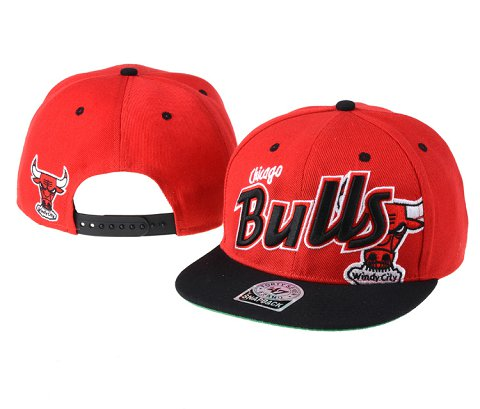 Chicago Bulls NBA Snapback Hat 60D08
