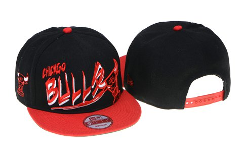 Chicago Bulls NBA Snapback Hat 60D12