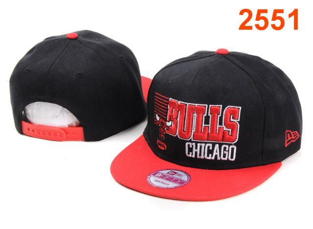 Chicago Bulls NBA Snapback Hat PT074