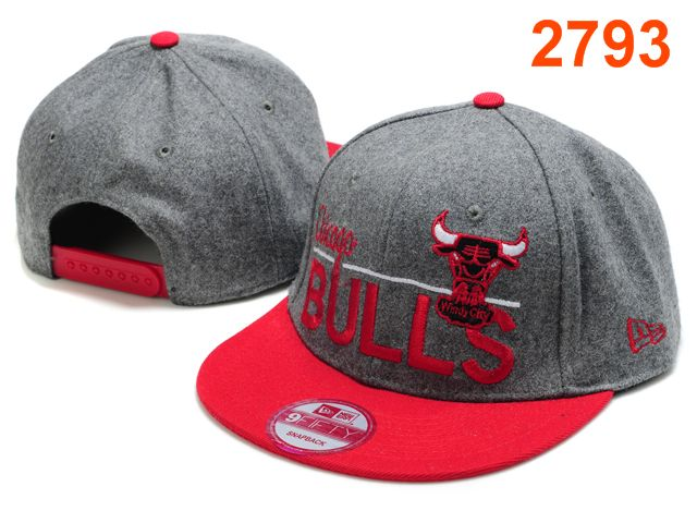 Chicago Bulls NBA Snapback Hat PT089