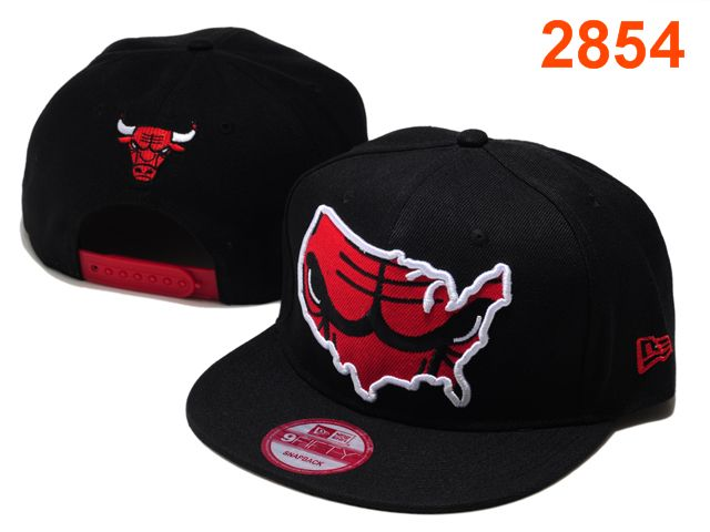 Chicago Bulls NBA Snapback Hat PT109