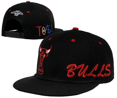 Chicago Bulls NBA Snapback Hat SD02