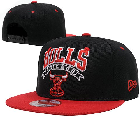 Chicago Bulls NBA Snapback Hat SD03