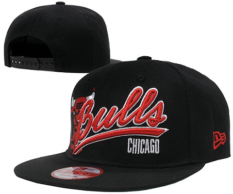 Chicago Bulls NBA Snapback Hat SD04
