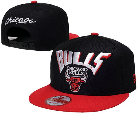 Chicago Bulls NBA Snapback Hat SD05