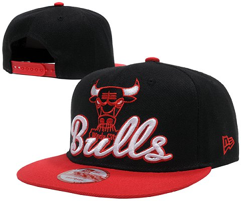 Chicago Bulls NBA Snapback Hat SD07