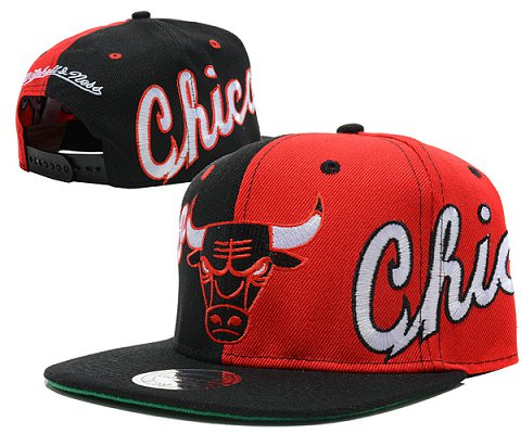 Chicago Bulls NBA Snapback Hat SD10