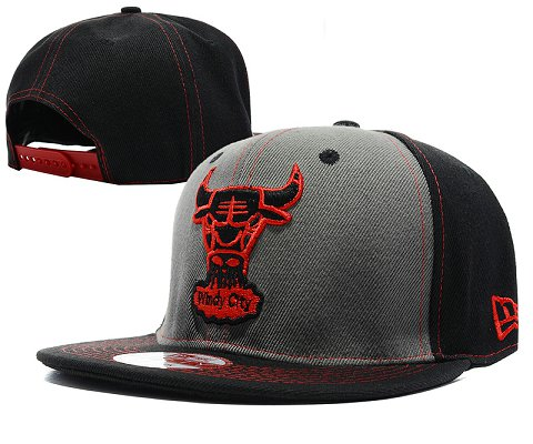 Chicago Bulls NBA Snapback Hat SD12