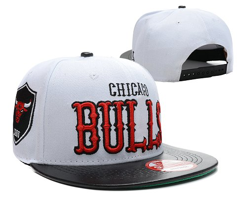 Chicago Bulls NBA Snapback Hat SD13