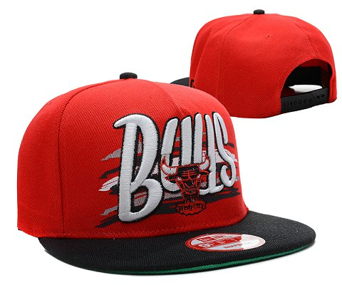 Chicago Bulls NBA Snapback Hat SD14
