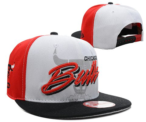 Chicago Bulls NBA Snapback Hat SD16