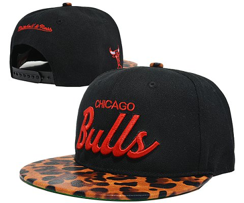 Chicago Bulls NBA Snapback Hat SD19