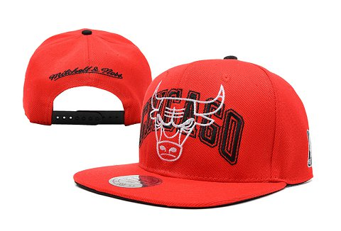 Chicago Bulls NBA Snapback Hat SD21