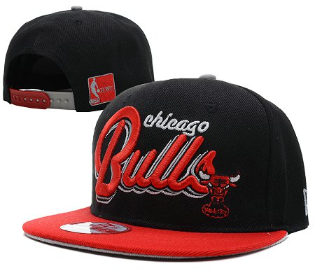 Chicago Bulls NBA Snapback Hat SD22
