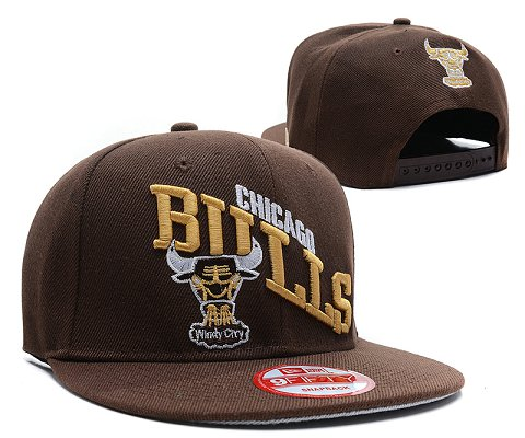 Chicago Bulls NBA Snapback Hat SD30
