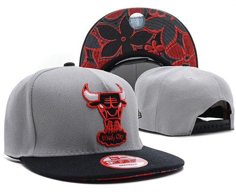 Chicago Bulls NBA Snapback Hat SD31