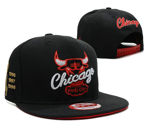 Chicago Bulls NBA Snapback Hat SD33