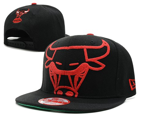 Chicago Bulls NBA Snapback Hat SD37