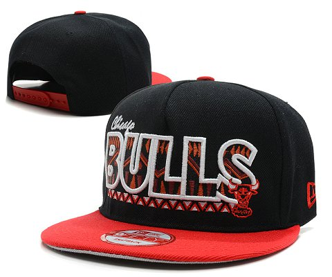 Chicago Bulls NBA Snapback Hat SD40