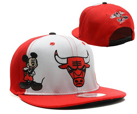 Chicago Bulls NBA Snapback Hat SD51
