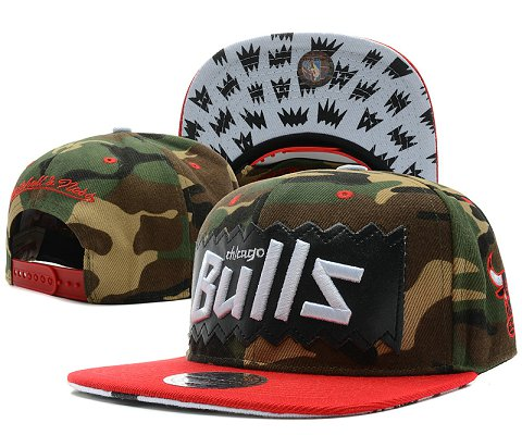 Chicago Bulls NBA Snapback Hat SD53