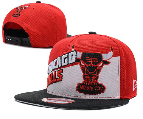 Chicago Bulls NBA Snapback Hat SD58