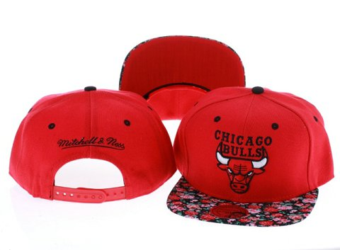 Chicago Bulls NBA Snapback Hat Sf06