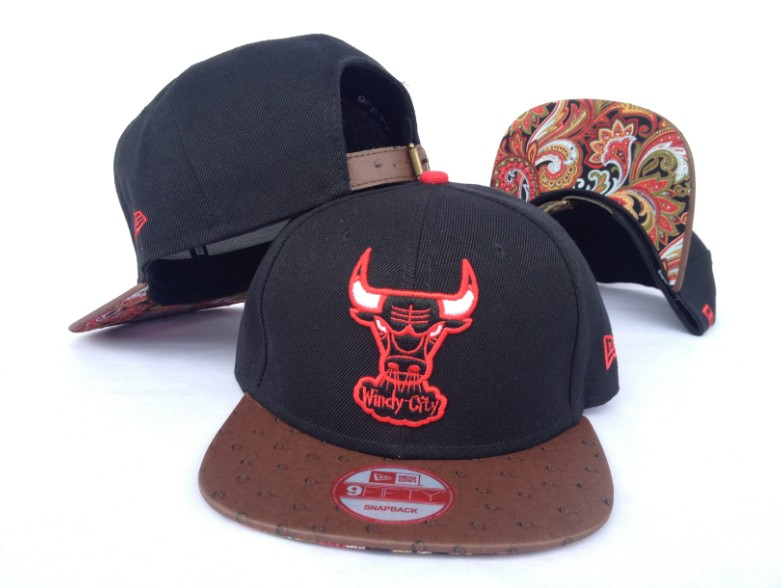Chicago Bulls NBA Snapback Hat Sf09