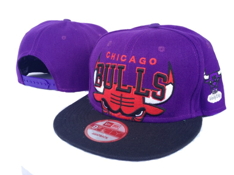 Chicago Bulls NBA Snapback Hat Sf10