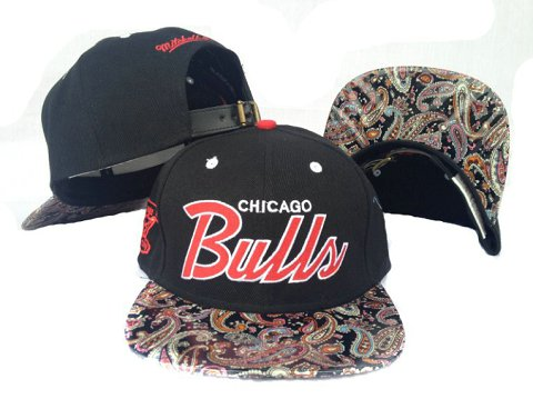 Chicago Bulls NBA Snapback Hat Sf12