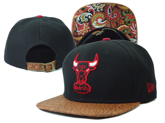 Chicago Bulls NBA Snapback Hat Sf13