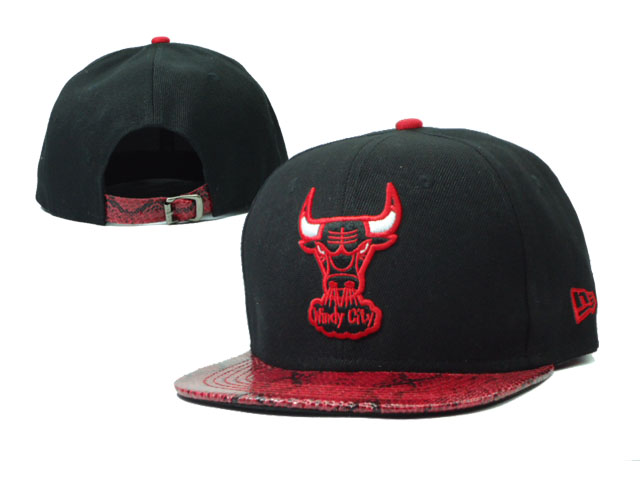 Chicago Bulls NBA Snapback Hat Sf22