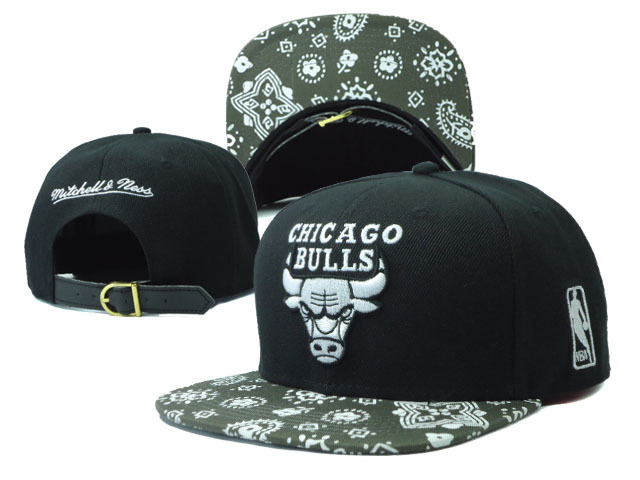 Chicago Bulls NBA Snapback Hat Sf24