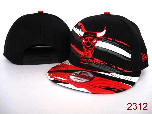 Chicago Bulls NBA Snapback Hat SG02