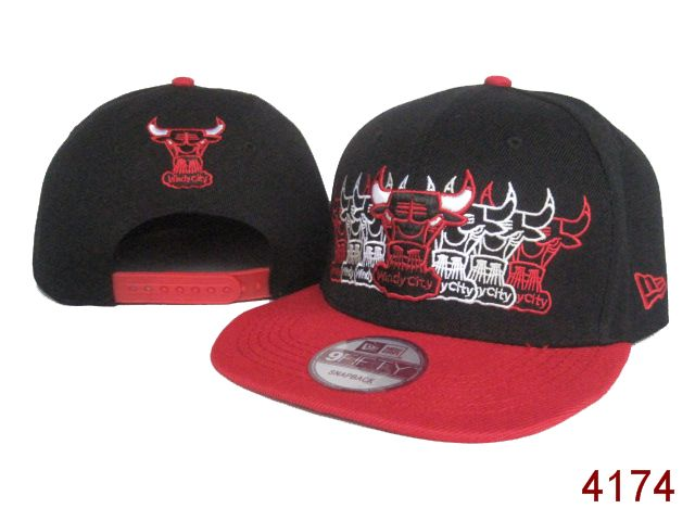 Chicago Bulls NBA Snapback Hat SG03