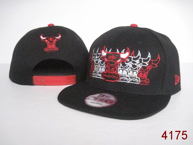 Chicago Bulls NBA Snapback Hat SG04