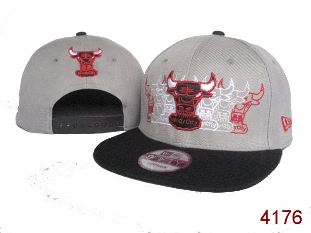 Chicago Bulls NBA Snapback Hat SG05
